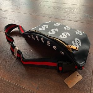 Money Fanny Leather Pack